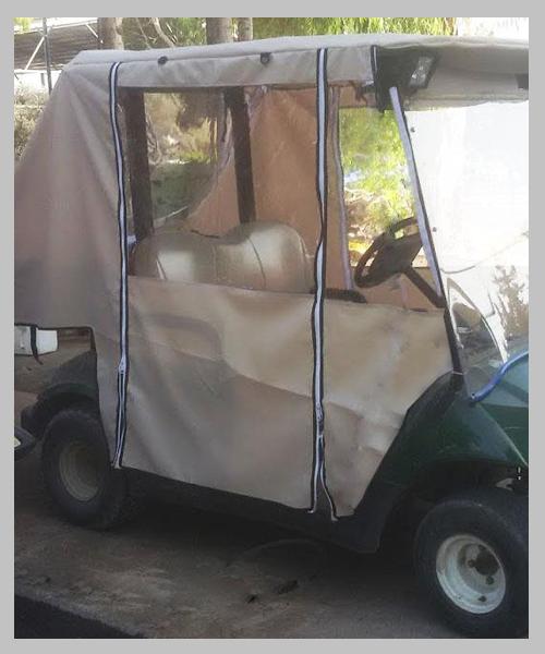 כיסוי לרכב תפעולי – Yamaha + תא מטען11111