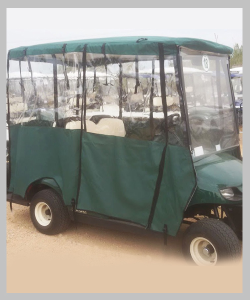 כיסוי לרכב תפעולי – EasyGo ארוך ירוק1111